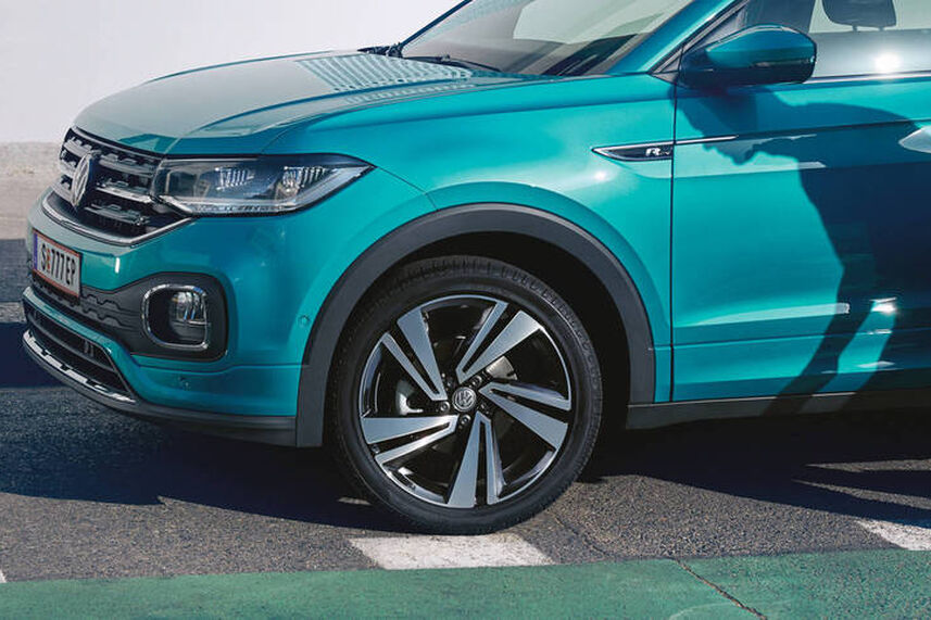 VW T-Roc Lane Assist, asistenca za zastoje in Emergency Assist